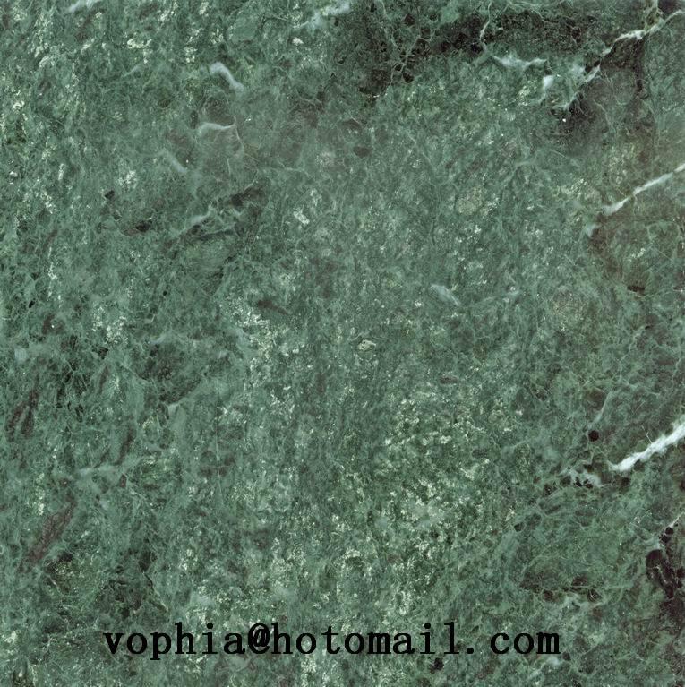 Chinese dark green  marble