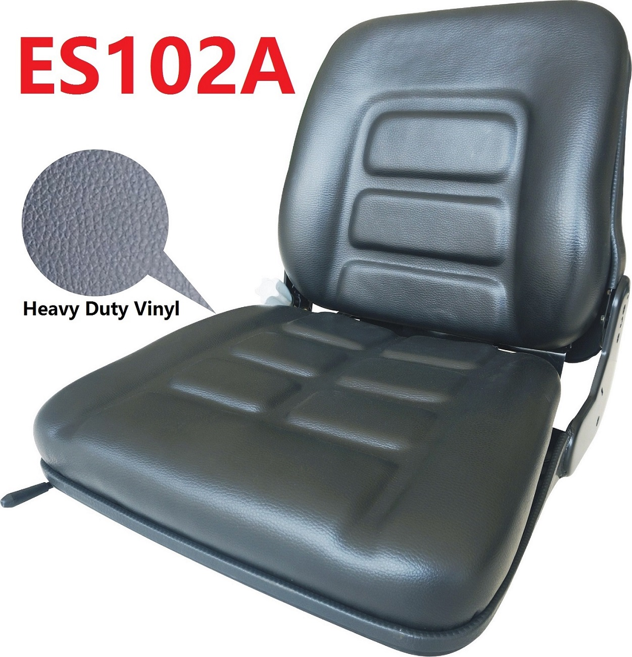 Universal Replacement Suspension Seat ES102A Construction Sweeper Agricultural Tractor Forklift Seat