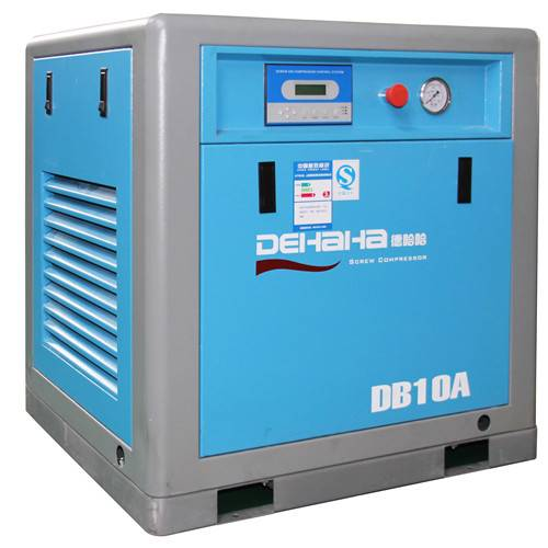 7.5kw Belt Driven Screw Air Compressor