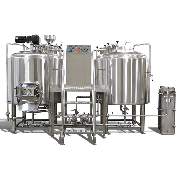 600L customized industrial beer brewing equipment for sale