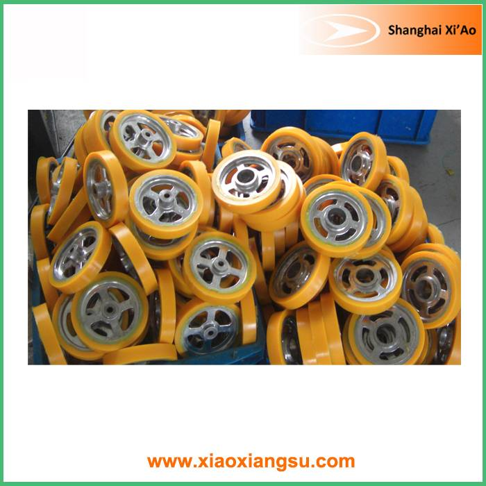 Rubber Conveyor Roller and Wheel