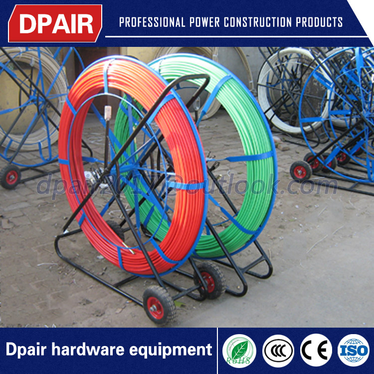 hot sale promotion wire pulling fiberglass duct rodders