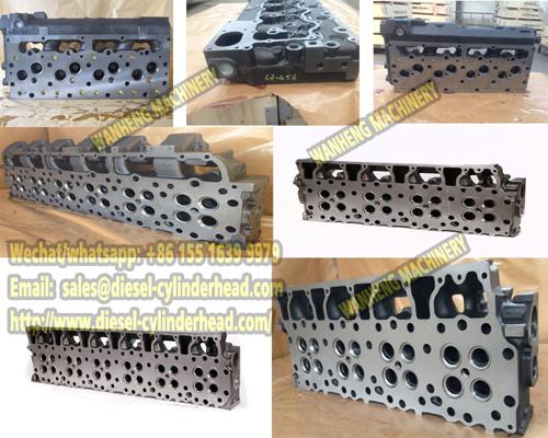 Cylinder head 4900995 FOR CUMMINS A2300 ENGINE