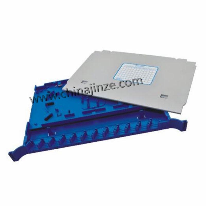 12 Core fiber optic splice tray