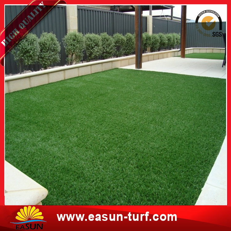 Chinese artificial grass and sport flooring for football field grass mat with natural feeling-Donut