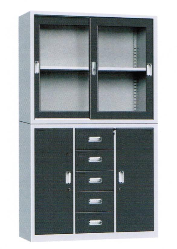 5 drawer sliding door cabinet