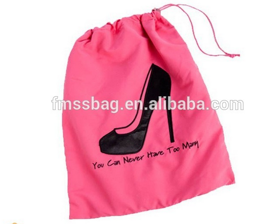 Multi-Purpose Cotton Canvas Drawstring Bag For Shoe Pants Store