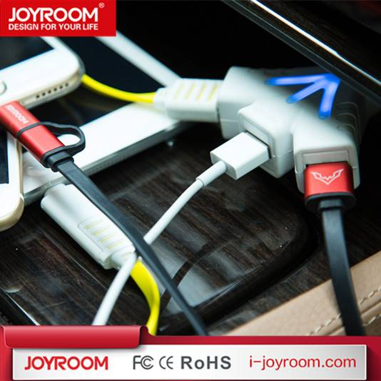 JOYROOM usb 5V 5.1A quick car charger hybrid high speed car charger