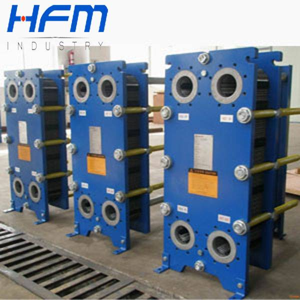 Stainless steel frame of gasket plate heat exchanger