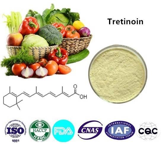 Tretinoin  99% CAS NO:302-79-4 10g/bag