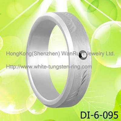 Body jewelry ring Tungsten Figer Ring