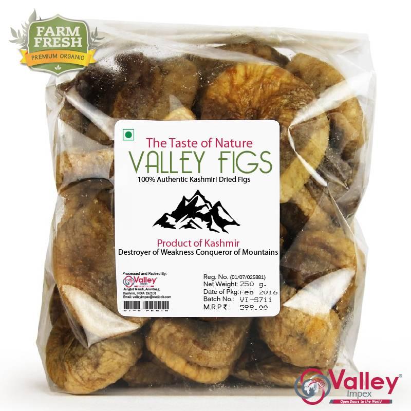 Figs Dried Organic Kashmiri Anjeer Premium Grade