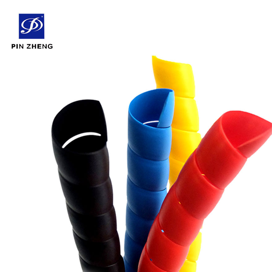 high quality polypropylene soft plastic cable spiral wrap