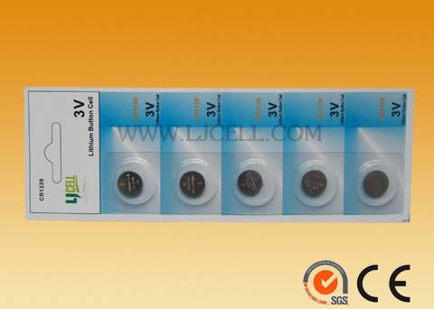 3VCR1220 button battery