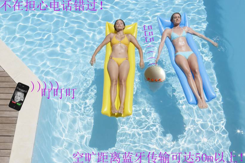 Mini Speaker Bluetooth Wireless Waterproof Silicone Suction Shower MIC