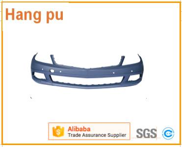 Front bumper with lining Support for For Mercedes Benz   C - Class W204 (08-09')