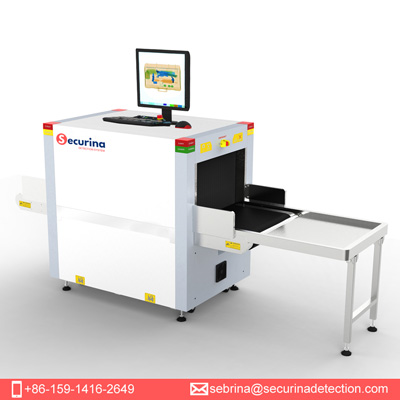 Securina-SA4233A Security X-ray Baggage Scanner Machine for checkpoints to protect public security