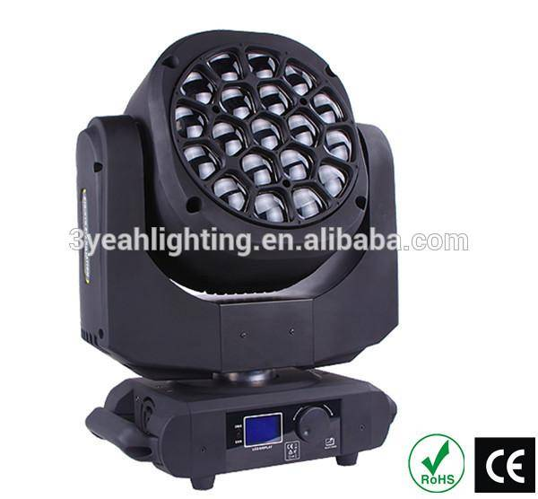 Clay Paky 19X15W Be Eye Zoom and Rotating LED Moving Head Lights Bee Eye