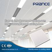 2016 Fashionable power coating aluminum ceiling panel