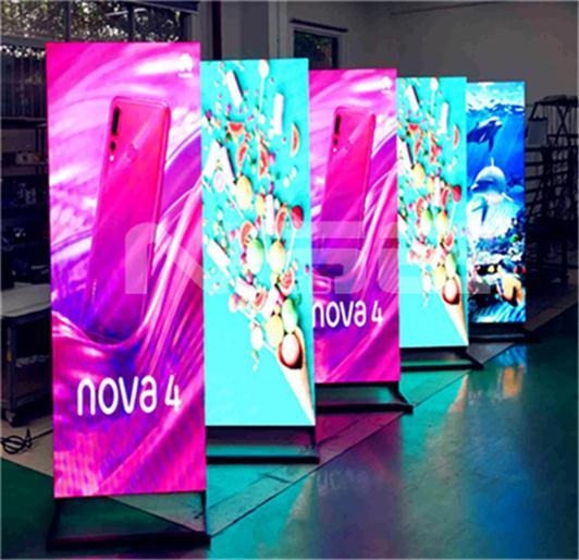Flexible Installation Digital LED Poster