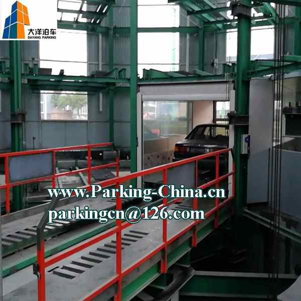 Full Auto Car Parking System with Turntable Slide, Lift and Turn Functions Fast Parking Speed by Chi
