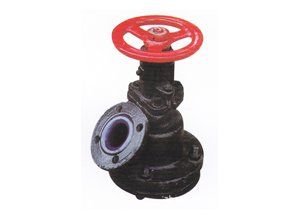 Glass-Lined Discharge Valve