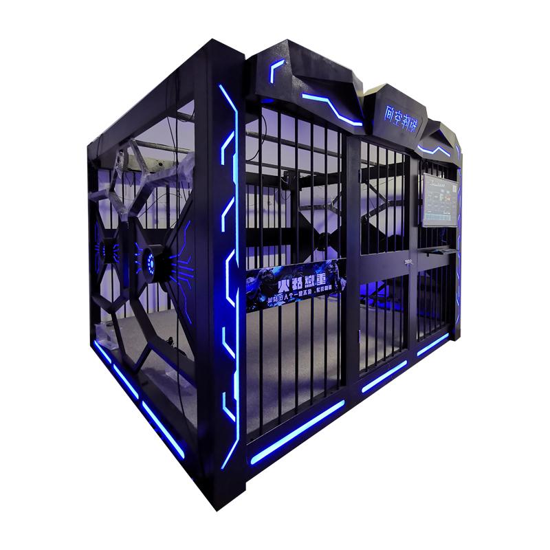 Amusement Park 9D VR Fight Cage Game Machines For Sale