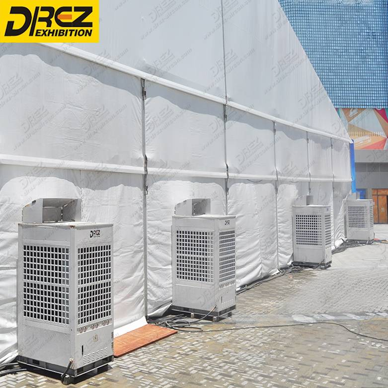 Drez Airduct / Airbox Tent Air Conditioner-HVAC Units 12 ton, 20 ton, 25 ton and 30 ton ac