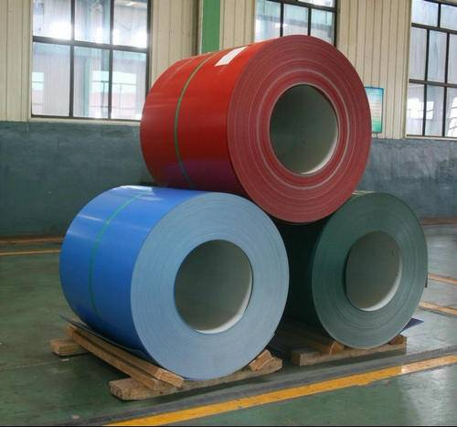 Prepainted hot dipped galvalume steel coil(PPGL)