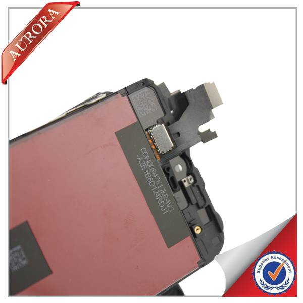 China wholesale mobile phone screen display for iphone 5C Original black parts