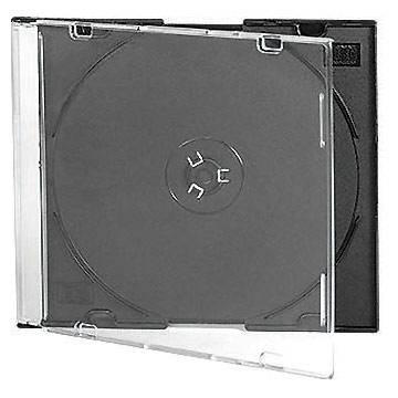 5.2mm Slim Black Tray CD CASE