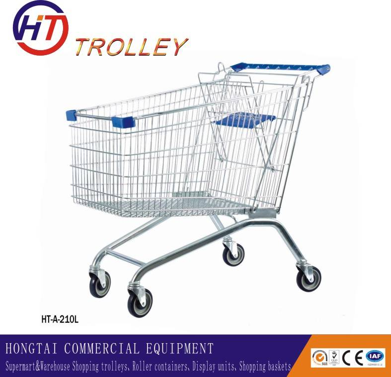 supermarket shopping carts with child seat factory direct sale