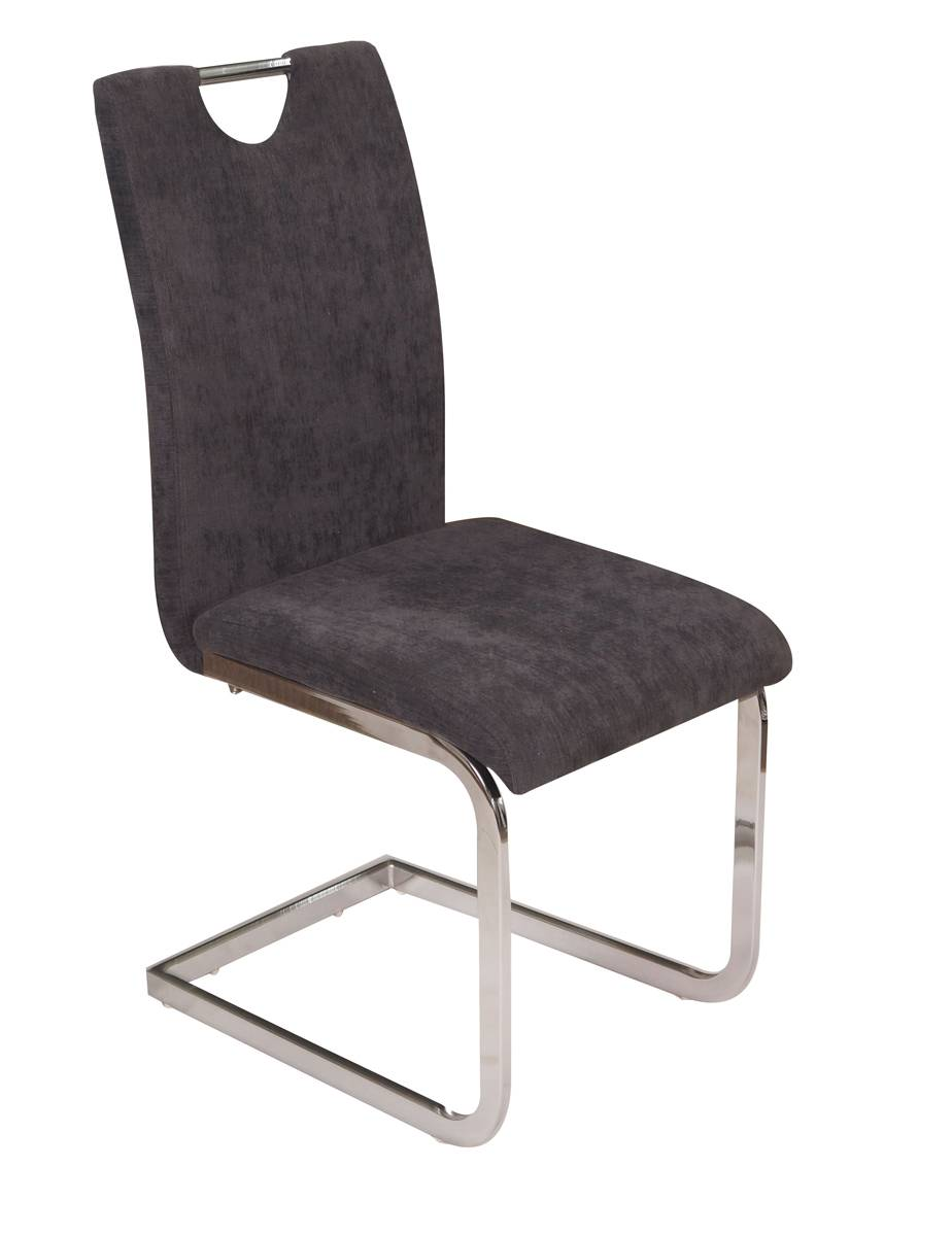 Chair with Seat & Back in Microfiber - Dining Chairs