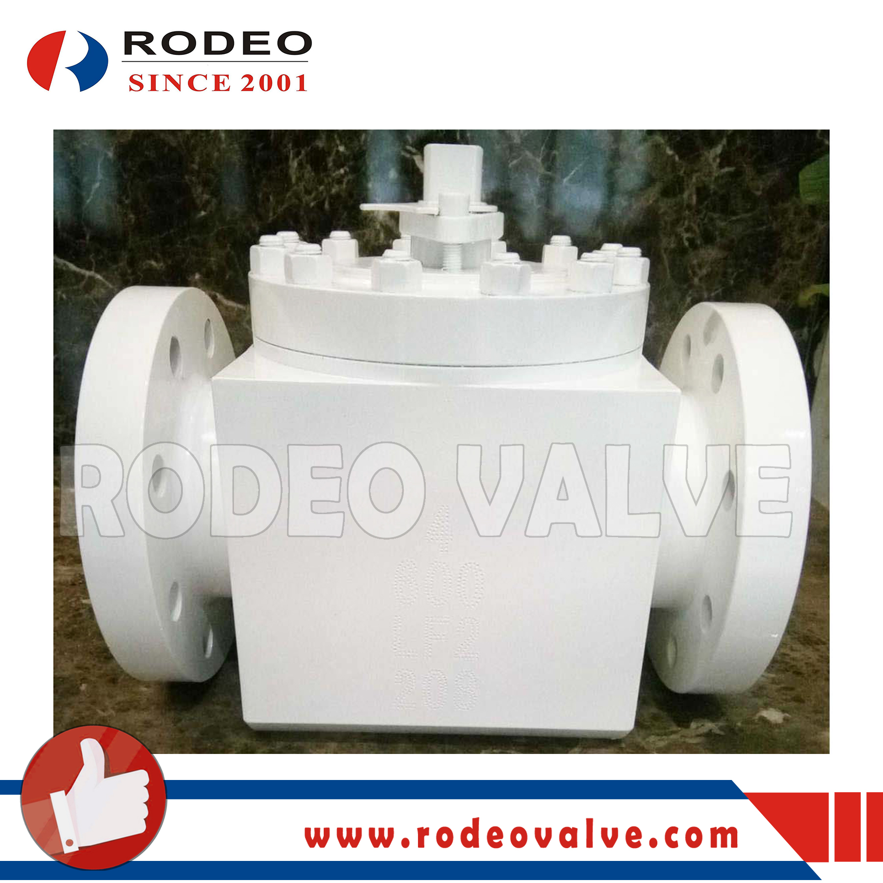 Flanged TOP-ENTRY Forged steel ball valve