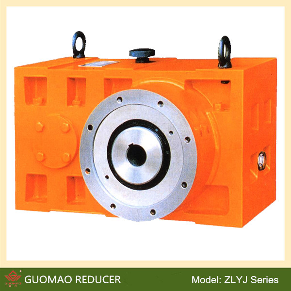 Customized Plastic Extruder Zlyj Gearbox With Spare Parts