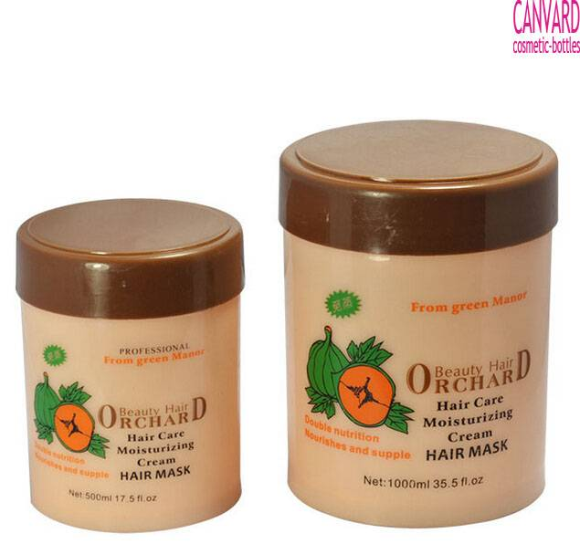 500g-1000g-hair shampoo jar-hair salon jar