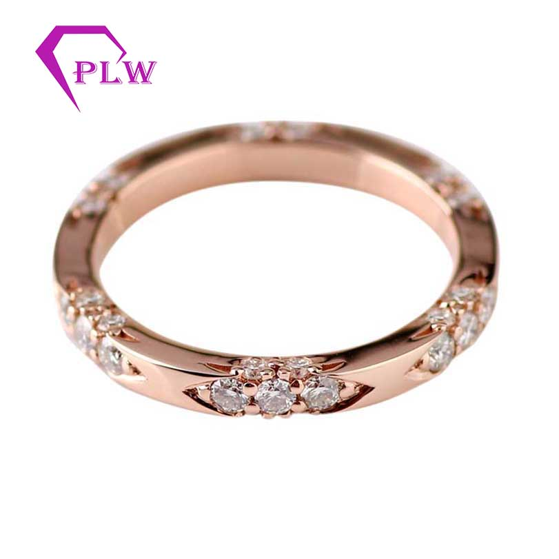 Provence gems Customized 14k gold hot sale jewelry moissanite brand ring for women