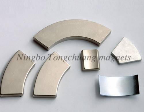 Arc shape neodymium magnets for sale