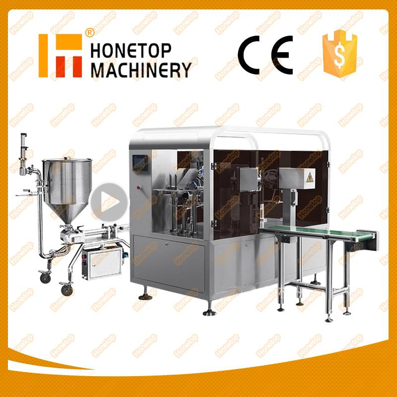 Rotary Liquid Packing Machine
