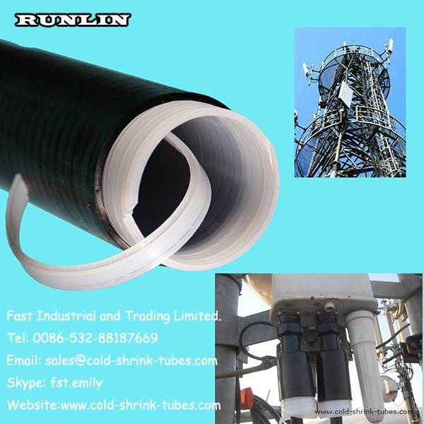4G communications base station insulated tube/Cold shrink tubing