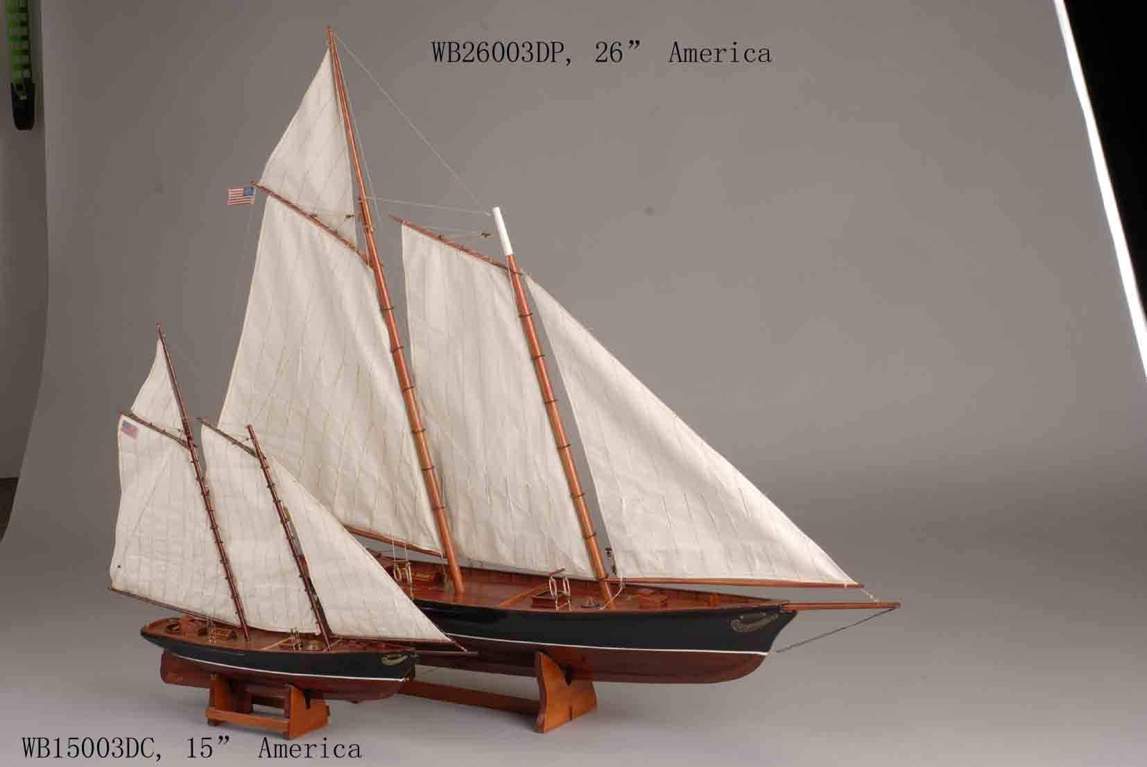 ship model --America
