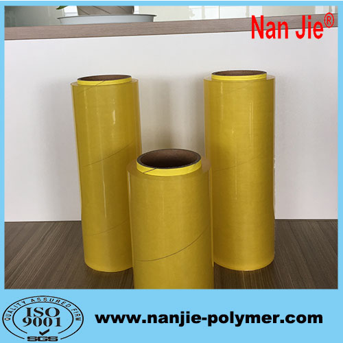 Nan Jie super clear food grade pvc wrap film jumbo rolls