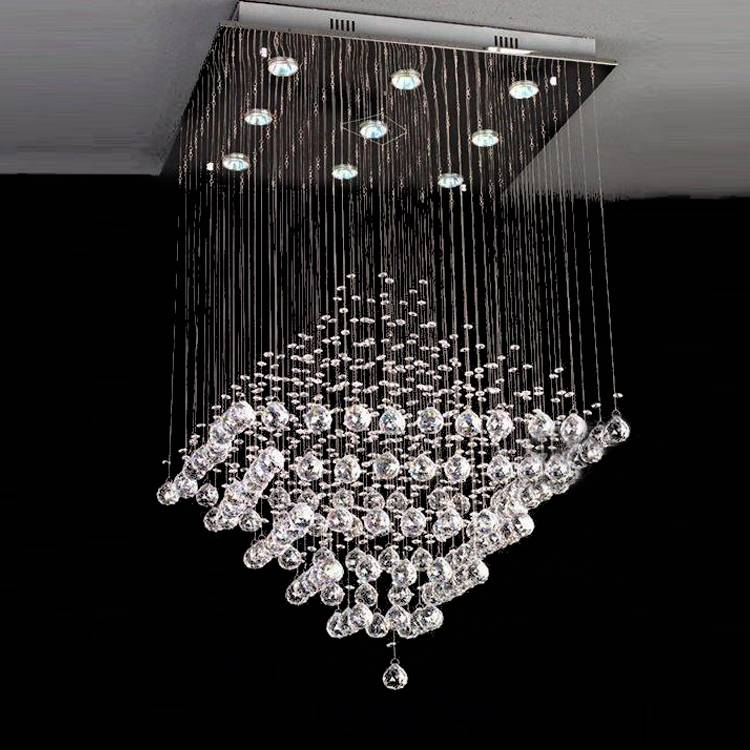 Chinese top crystal LEDpendant light/lamp  crystal chandelier 8013-9