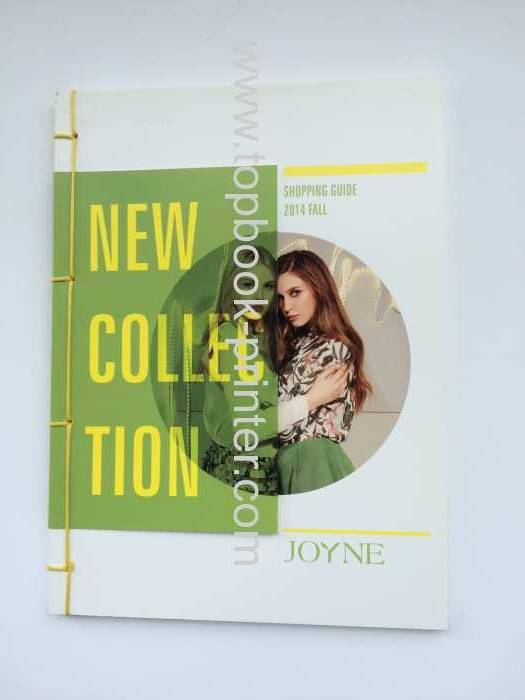 Top-grade section sewn bound PVC UV printed cover softcover book printing or binding