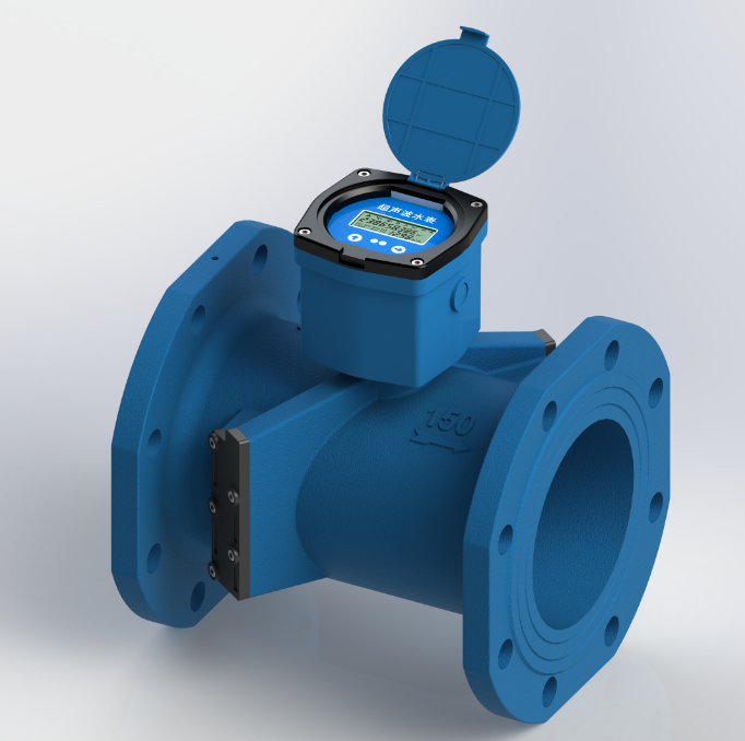 T3-1 Dual-channel Digital Ultrasonic Water Meter
