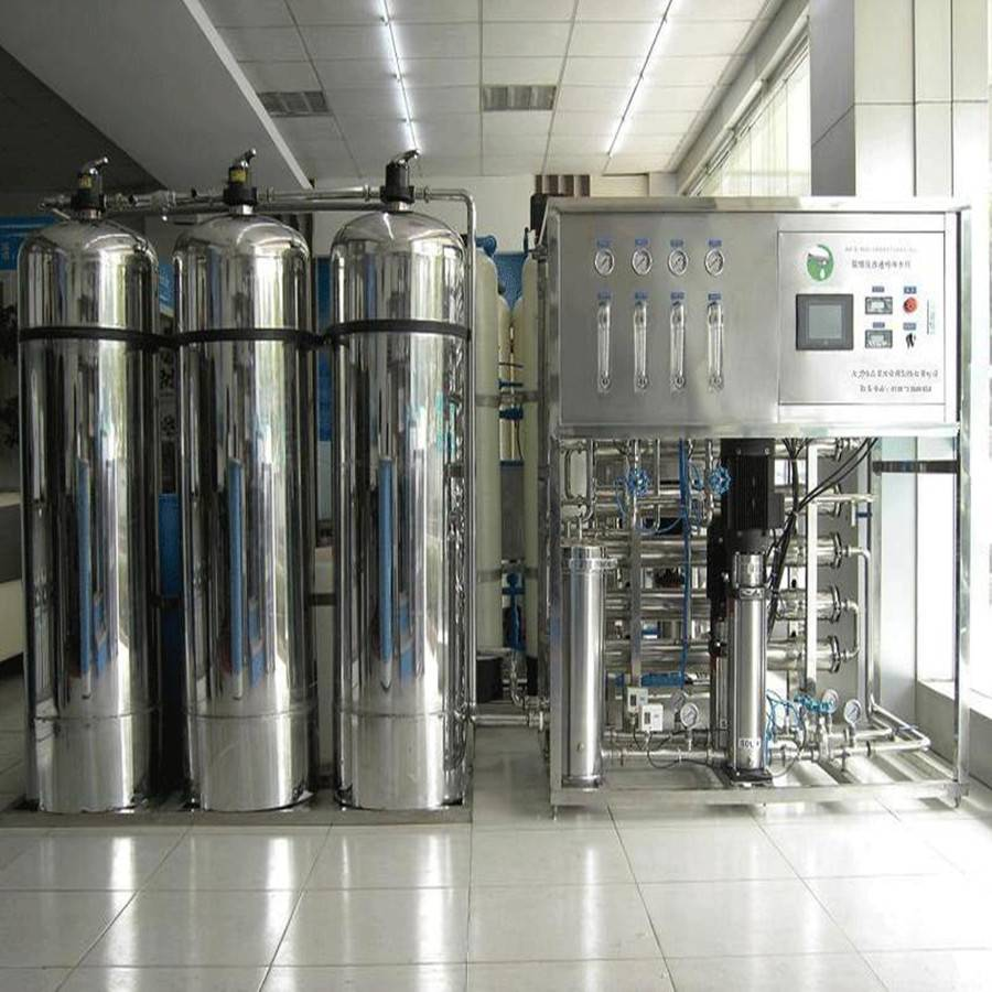 Industrial RO water plant for water treatment