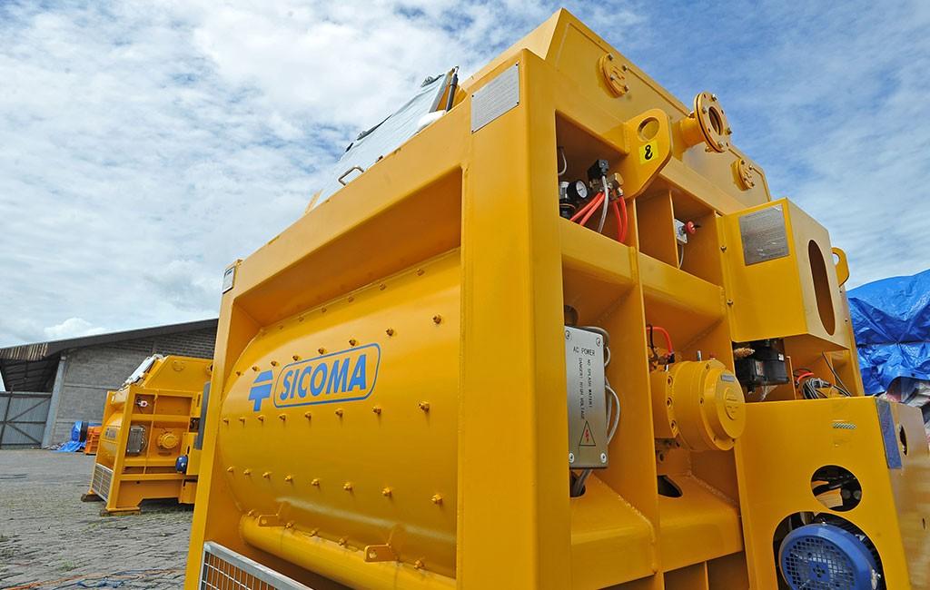 SICOMA Double Shaft Concrete Mixer