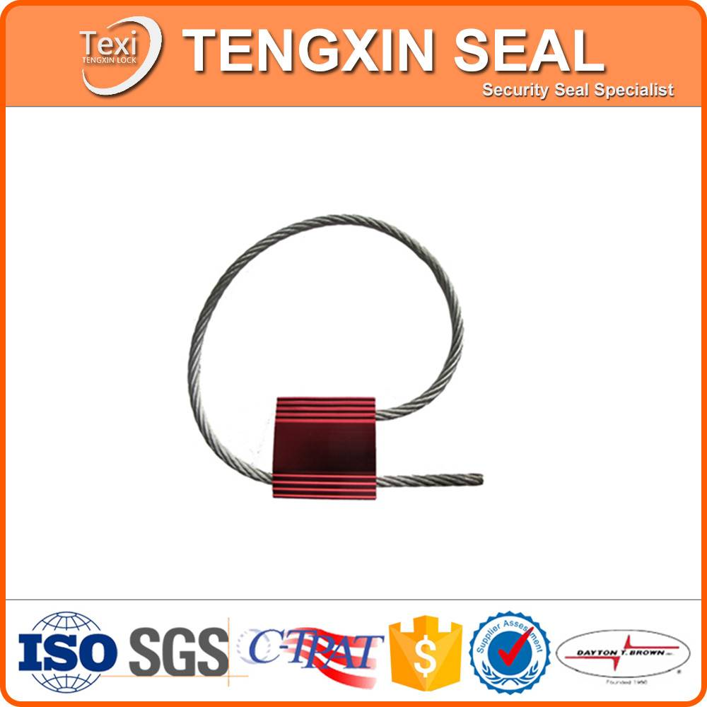 Seal security cabel container steel wire cable seal