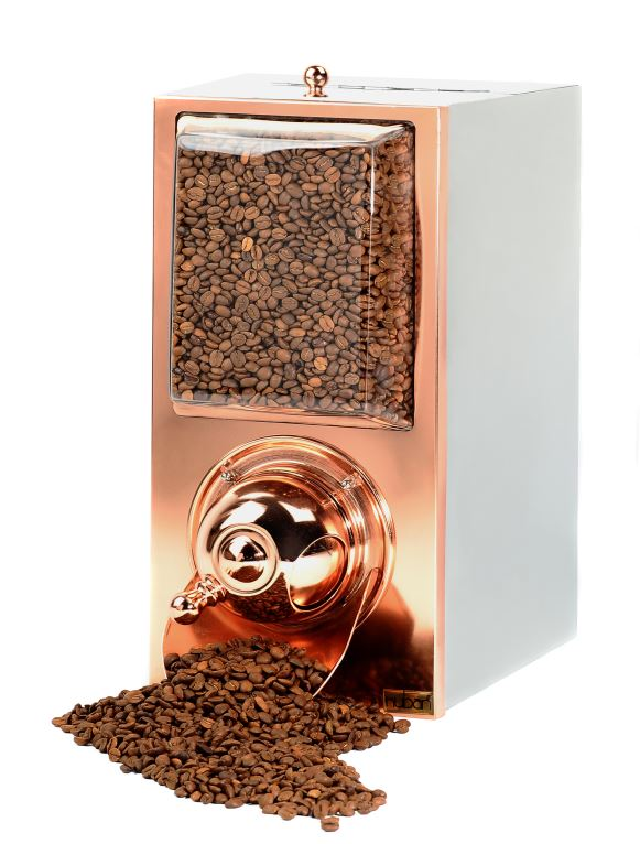 KBN60 RECTANGULAR COFFEE SILO-COPPER