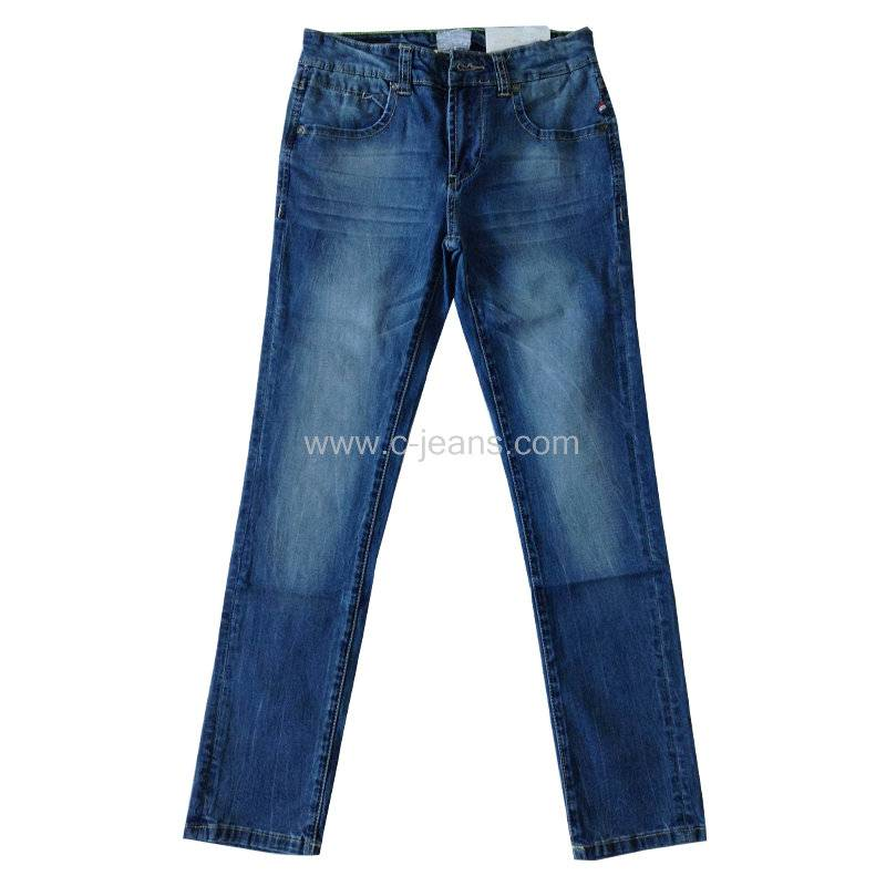 china manufacturer free sample OEM latest fashion Basic straight denim man jean
